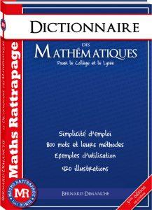 achat dictionnaire maths