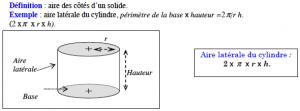 aire calcul latérale